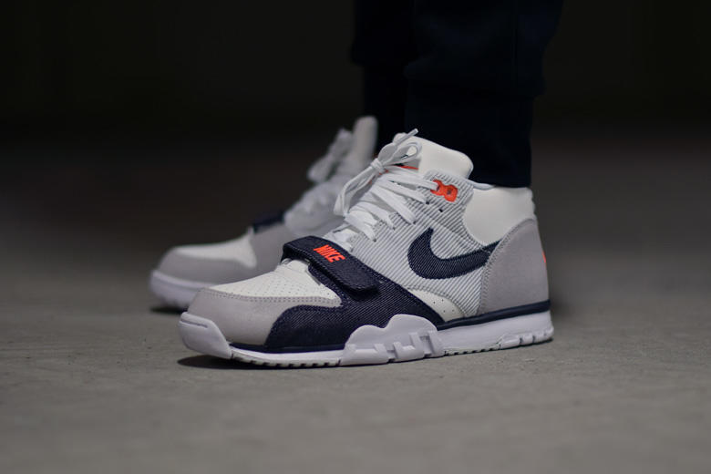 Nike Air Trainer currently available overseas at shops like snkrs, these joints are roughly  $134. SEAKRHV