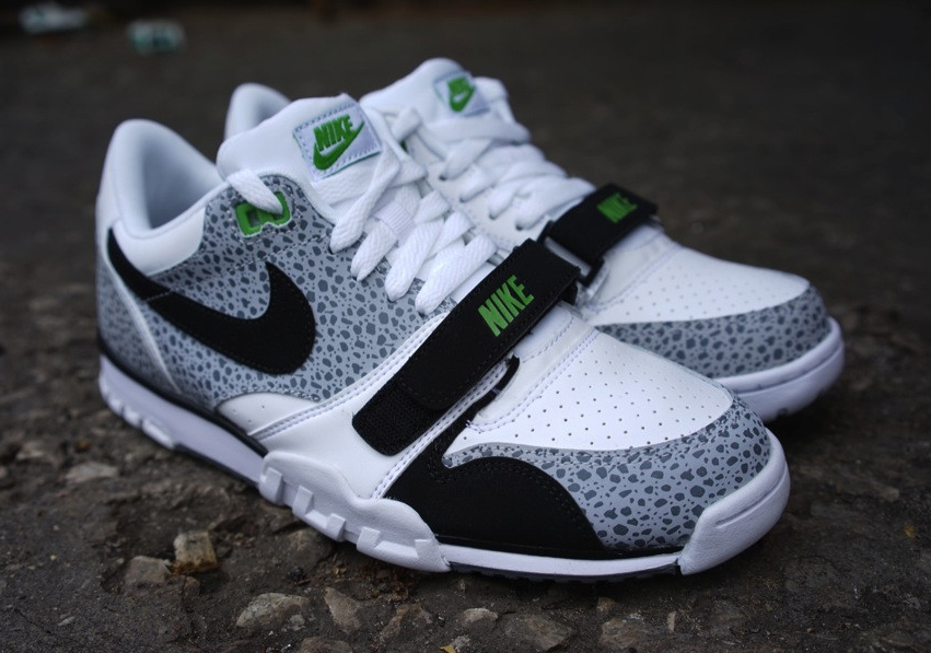 Nike Air Trainer safari print has seemingly been everywhere at the moment - in fact the AOMVFJU