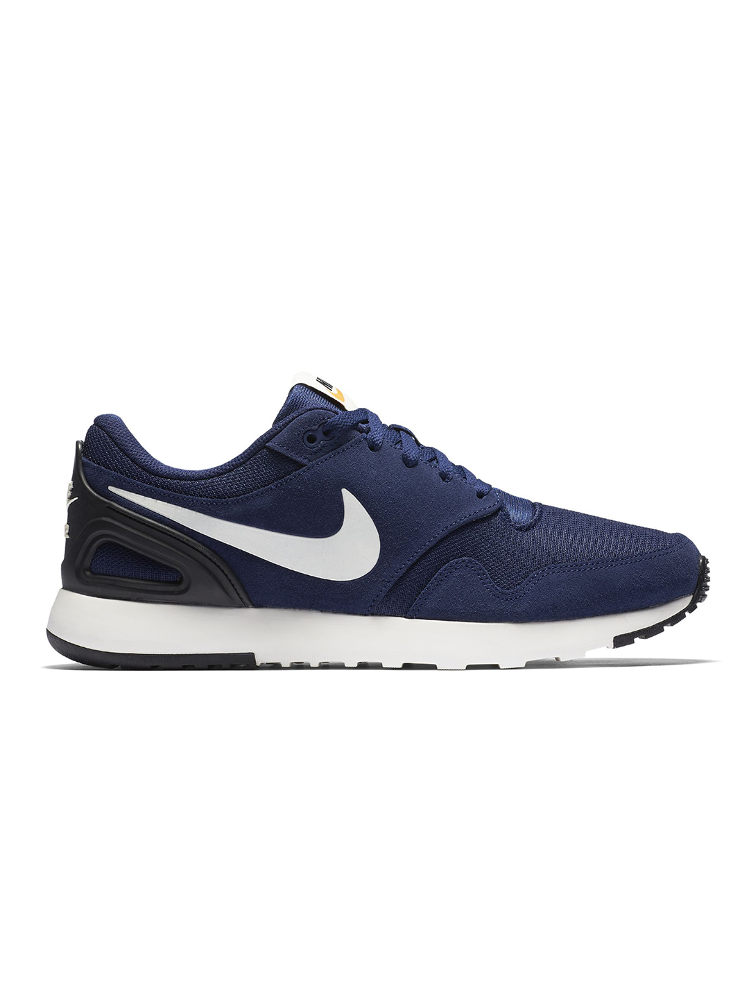 nike black and blue casual shoes