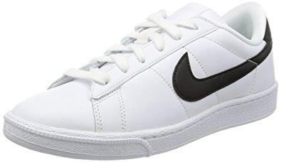 nike classics nike womenu0027s tennis classic white/black casual shoe 7 women us CJAWMMG