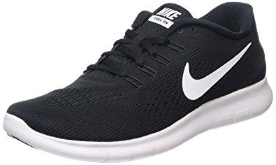 nike free black menu0027s nike free rn running shoe black/anthracite/white 6 d(m) ZOXNMYJ