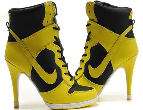 nike heels nike high heel shoes thats some thing you dont see every day CFOZGAL