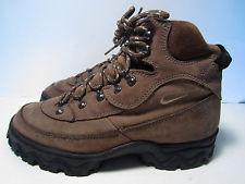 nike hiking boots vintage womenu0027s nike acg hiking boots size 8.5 brown YTOZVQX