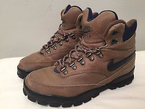 nike hiking boots vtg 90u0027s nike regrind hiking boot women sz 9 leather acg mowabb caldera MJADLYJ