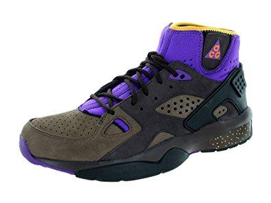 nike hiking shoes nike menu0027s mowabb og pitch/ttl orange/trls end brwn hiking shoe 8 men ZJUKIQR