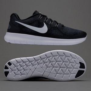 Nike running shoes nike free rn 2017 - black/white/dark grey/anthracite YZBKXLK