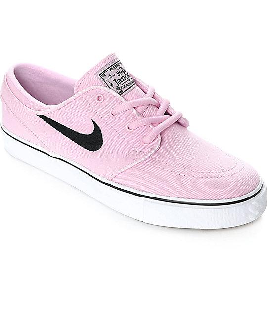 nike sb janoski prism pink canvas womenu0027s skate shoes JNVCBIX