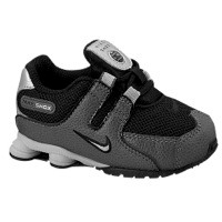 nike shox nz - boysu0027 toddler - black / grey WAZGELY