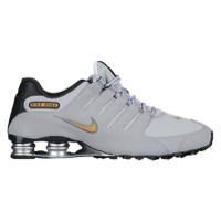 nike shox nz - menu0027s - grey / gold MLSWGZG
