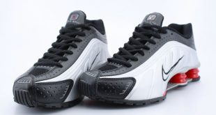 nike shox r4 black deep grey GOCZLRS