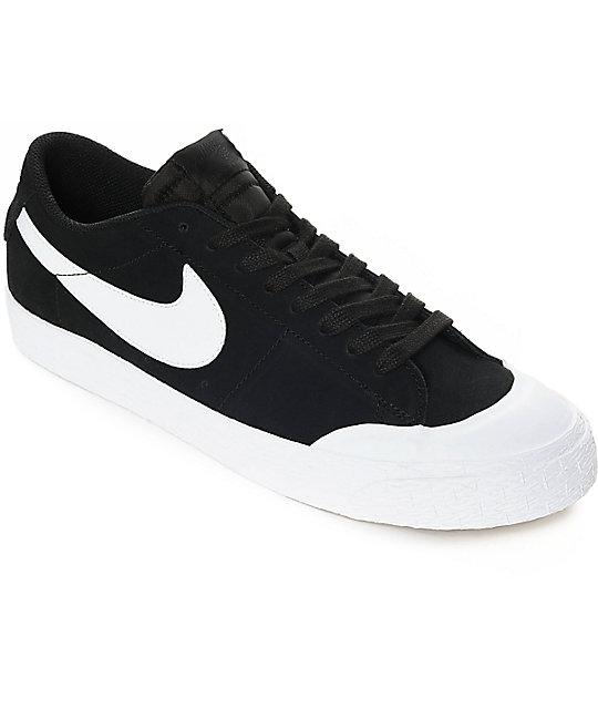 nike skate shoes nike sb blazer xt low black u0026 white suede skate shoes MSWQFEW
