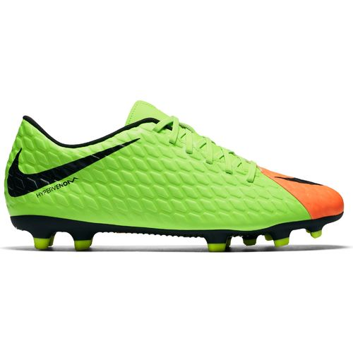 Nike soccer cleats nike menu0027s hypervenom phade iii firm ground soccer cleats ZCTMNKU