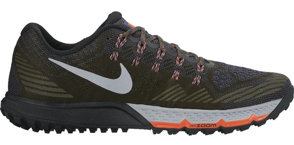 nike trail running shoes ... nike air zoom terra kiger 3 men brown ... MHGDSDI
