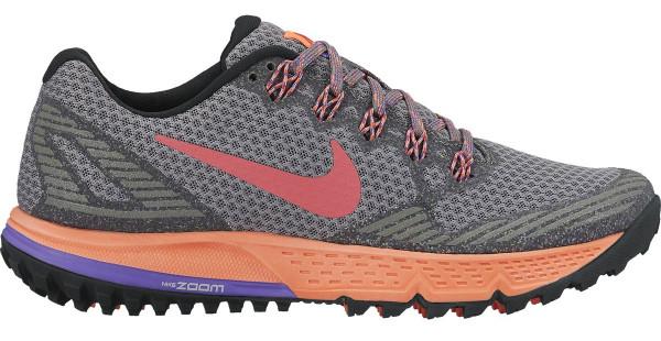 nike trail running shoes ... nike air zoom wildhorse 3 woman tumbled grey/ember glow ... KUKIGCI