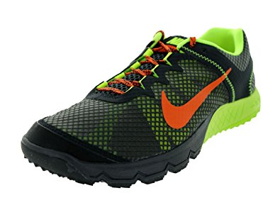 nike trail running shoes nike menu0027s zoom wildhorse dark charcoal/urban orange/vlt training shoe 8  men us IOGOCMF