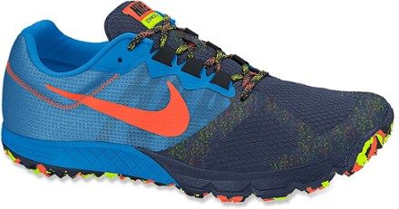 nike trail running shoes photo blue/navy/crimson RSMQEHO