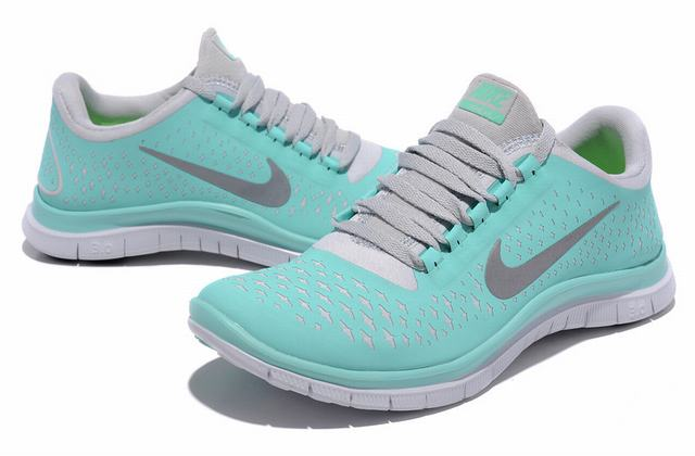 nike womens trainers us nike free run 3.0 v4 womens uk running shoes paleturquoise nk165 TXJZSND