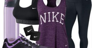 nike workout clothes nike workout outfit! purple my fave EZQFOPX