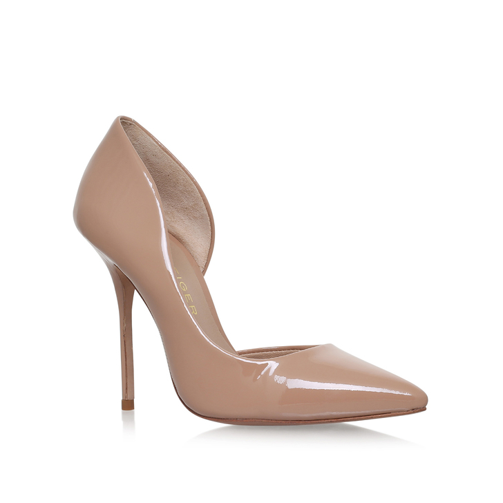 nude shoes anja. nude high heel court shoes OBDZSSK