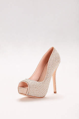 nude shoes: heels u0026 flats for any occasion | davidu0027s bridal BCOYMPF