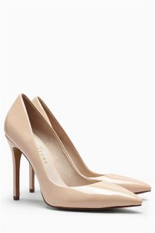nude shoes signature point court shoes STPWPVK