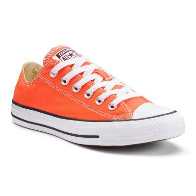 orange converse adult converse all star chuck taylor sneakers XIYOFIH