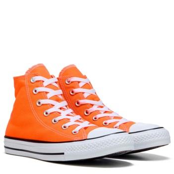 orange converse converse chuck taylor all star high top sneaker shoe YONRYQJ