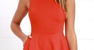 orange dress 1 ZGFJUYX