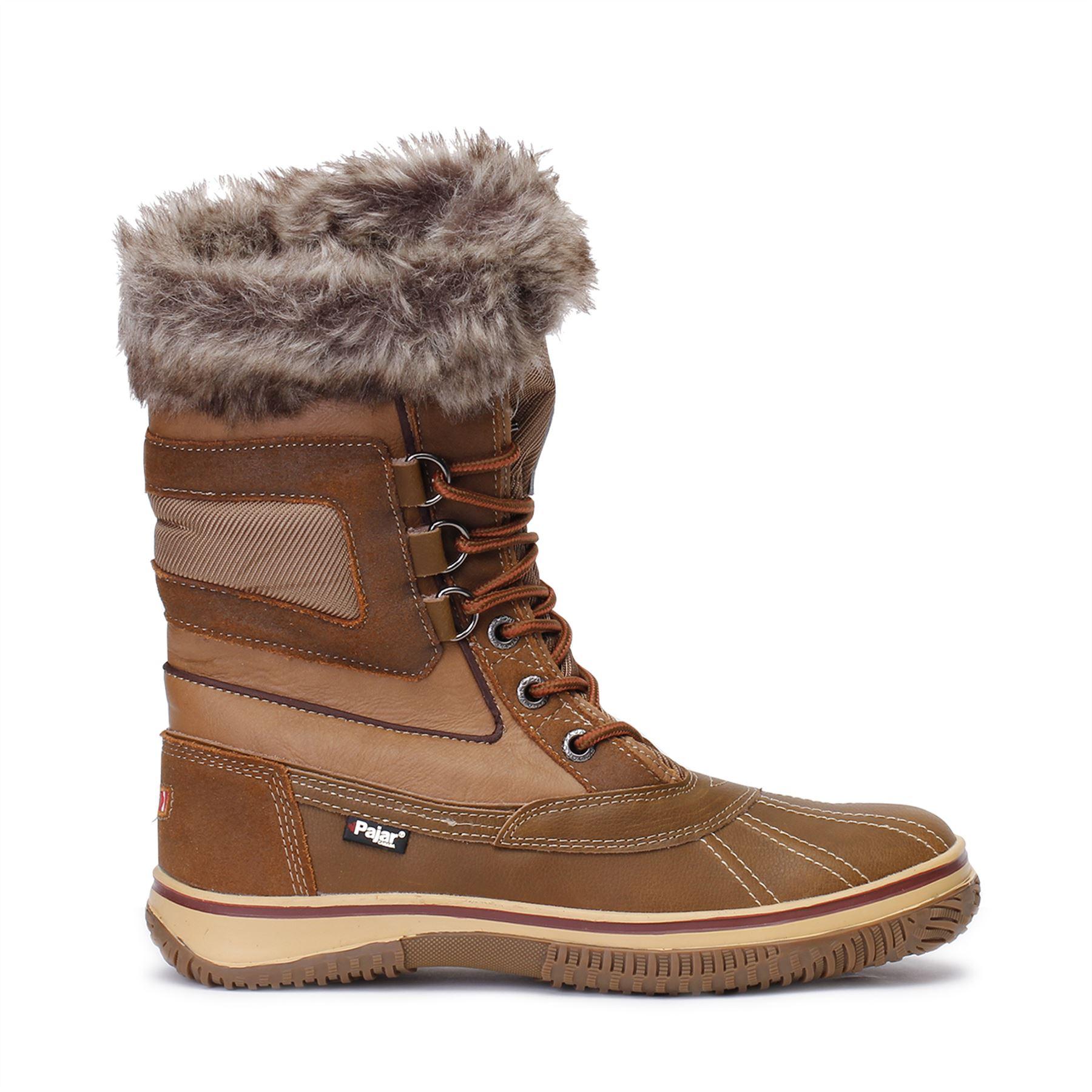 pajar boots pajar-canada-mens-tuscan-snow-boots-lined-waterproof- OUMWZYB