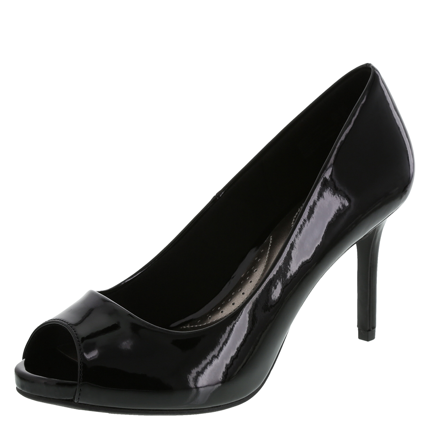peep toe pumps womenu0027s karmichael peep toe pumpwomenu0027s karmichael peep toe pump, black YXSODFR