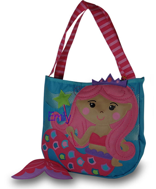 personalized girls beach bag ZQNBLTU