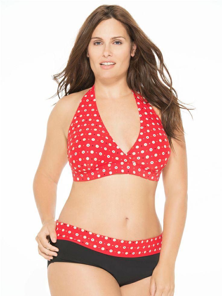 plus size bikinis precious dot plus size bikini top and bottom SVKLRYZ