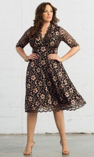 plus size dresses mademoiselle lace dress. plus size ... VECMVDY