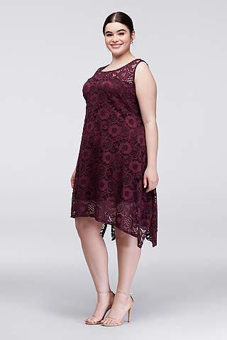 plus size dresses TAJXHNY