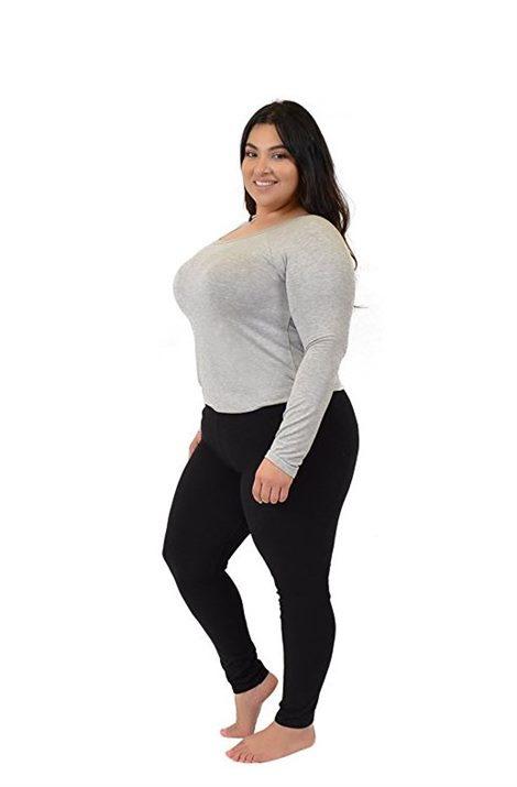 plus size leggings 7 dress with leggings plus size outfits TGAFTFC