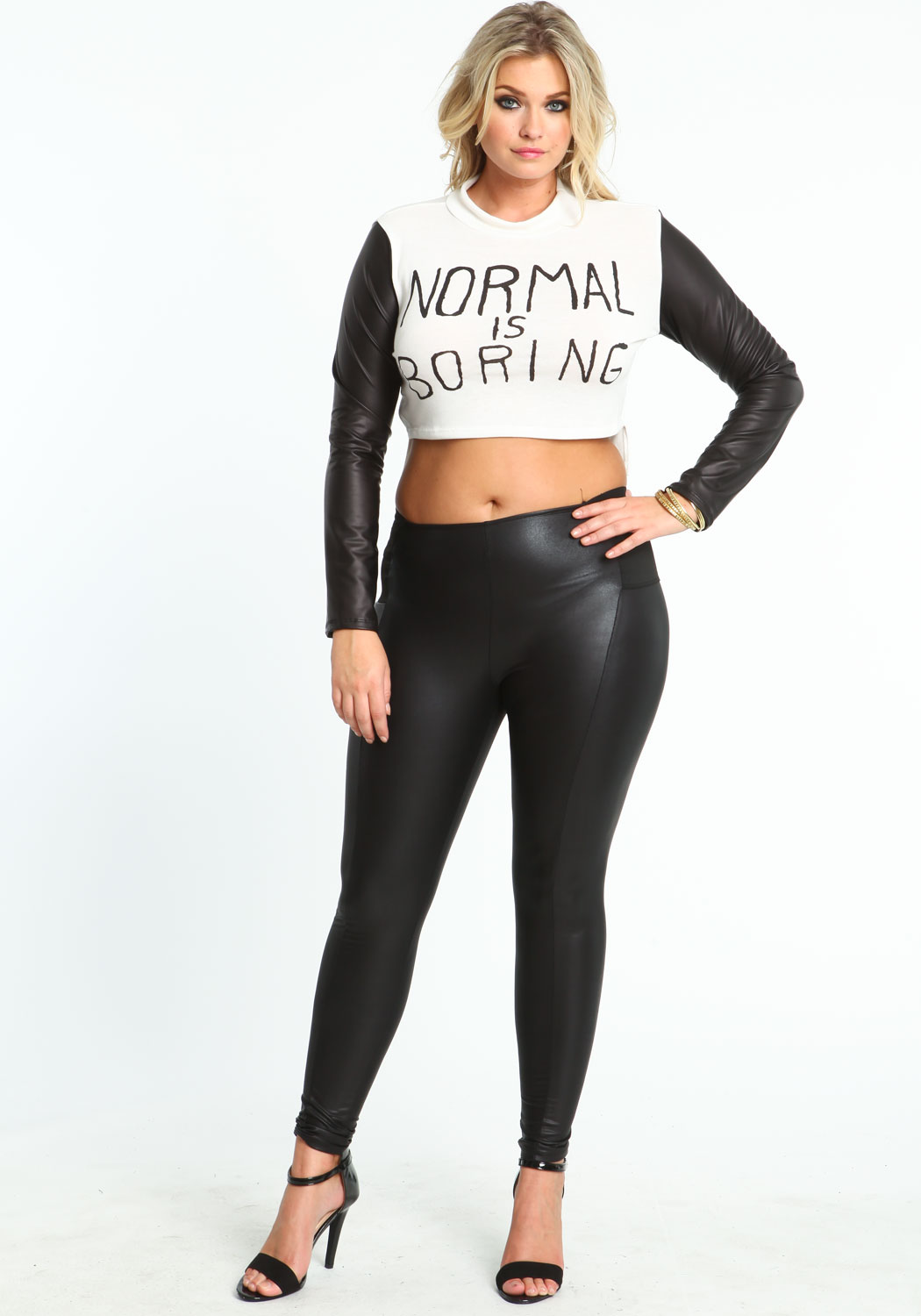 look slimmer and taller with plus size leggings - storiestrending