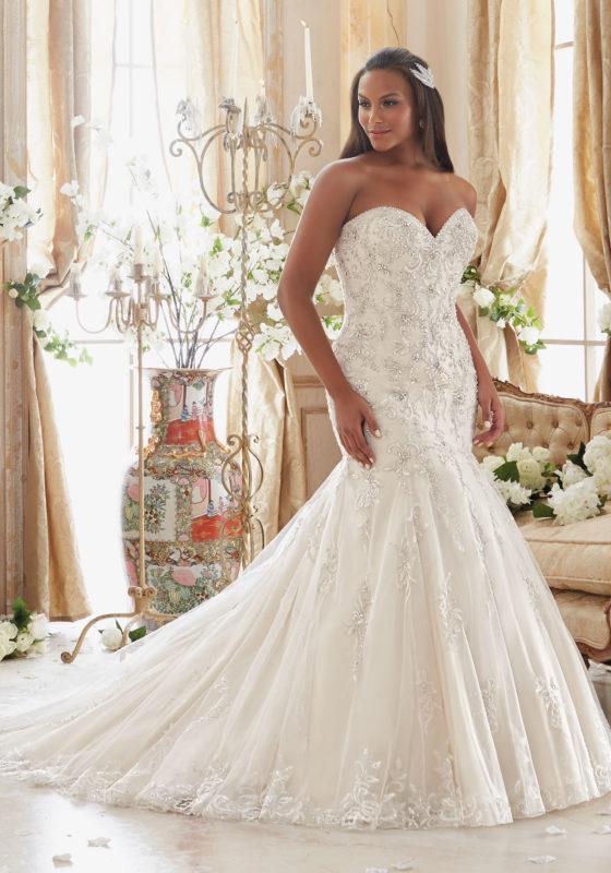 plus size wedding dress julietta - plus size wedding dresses, wedding dresses u0026 bridal gowns  crystallized embroidery BZEAUAL