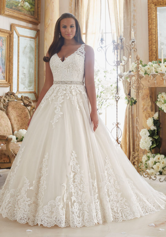 Plus Size Wedding Dress to Accentuate Your Figure
