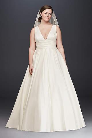 plus size wedding dress new RJATFBX