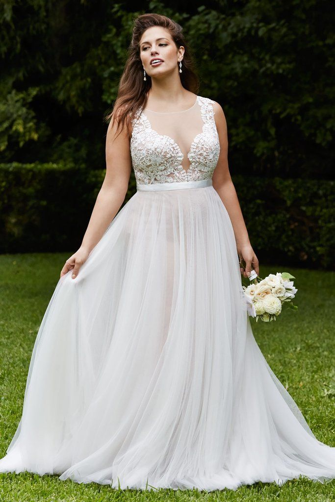 plus size wedding dress wedding dresses for ladies with curves. plus size ... PKKMWAF