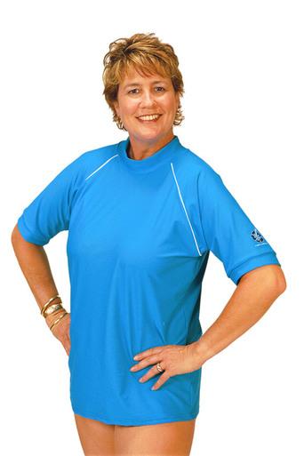 plus size womenu0027s swim shirts by solartex - solartex sun gear YNNQHUR