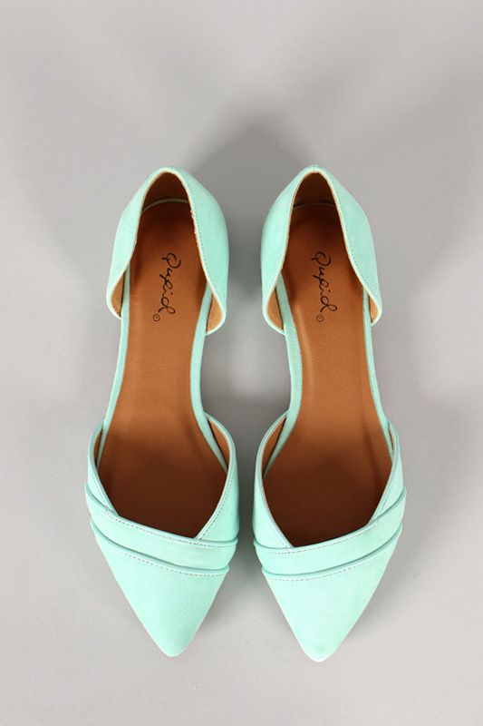 pointed toe flats qupid pointer-56 suede pointy toe flat XPMVNHH