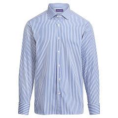 polo dress shirts aston fine-striped shirt - standard fit dress shirts - ralphlauren.com KWWNCVE