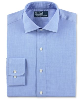 polo dress shirts polo ralph lauren blue english poplin dress shirt VSIMQEJ