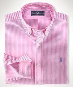 polo dress shirts polo ralph lauren thin striped mens dress shirt rose NADVCRM