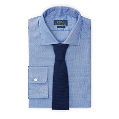 polo dress shirts slim-fit cotton dobby shirt - polo ralph lauren slim fit - ralphlauren.com LTSWPJV