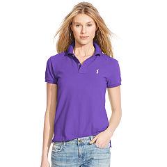 polo shirts for women classic fit cotton mesh polo - polo ralph lauren polo shirts -  ralphlauren.com XBVNHOA
