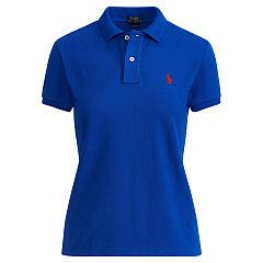 polo shirts for women classic fit mesh polo shirt - polo shirts women - ralphlauren.com REDVKQP