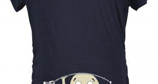 pregnancy t shirts maternity baby peeking shirt funny pregnancy cute announcement pregnant t  shirts | ebay ASZWOKM