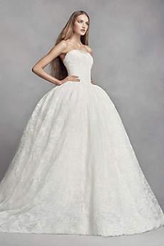 princess wedding dresses long ballgown wedding dress - white by vera wang NJHIOGL